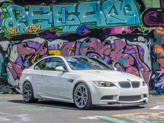 M3 Graffiti vorn